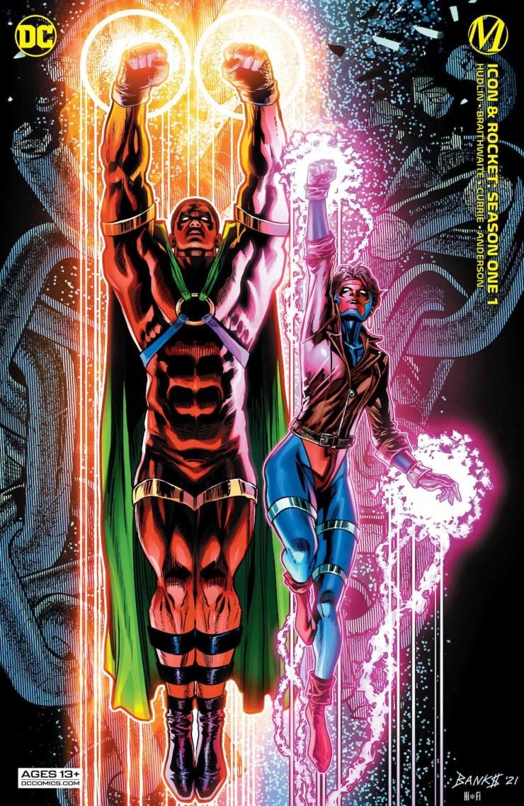 DC Preview: Icon & Rocket #1: Season One