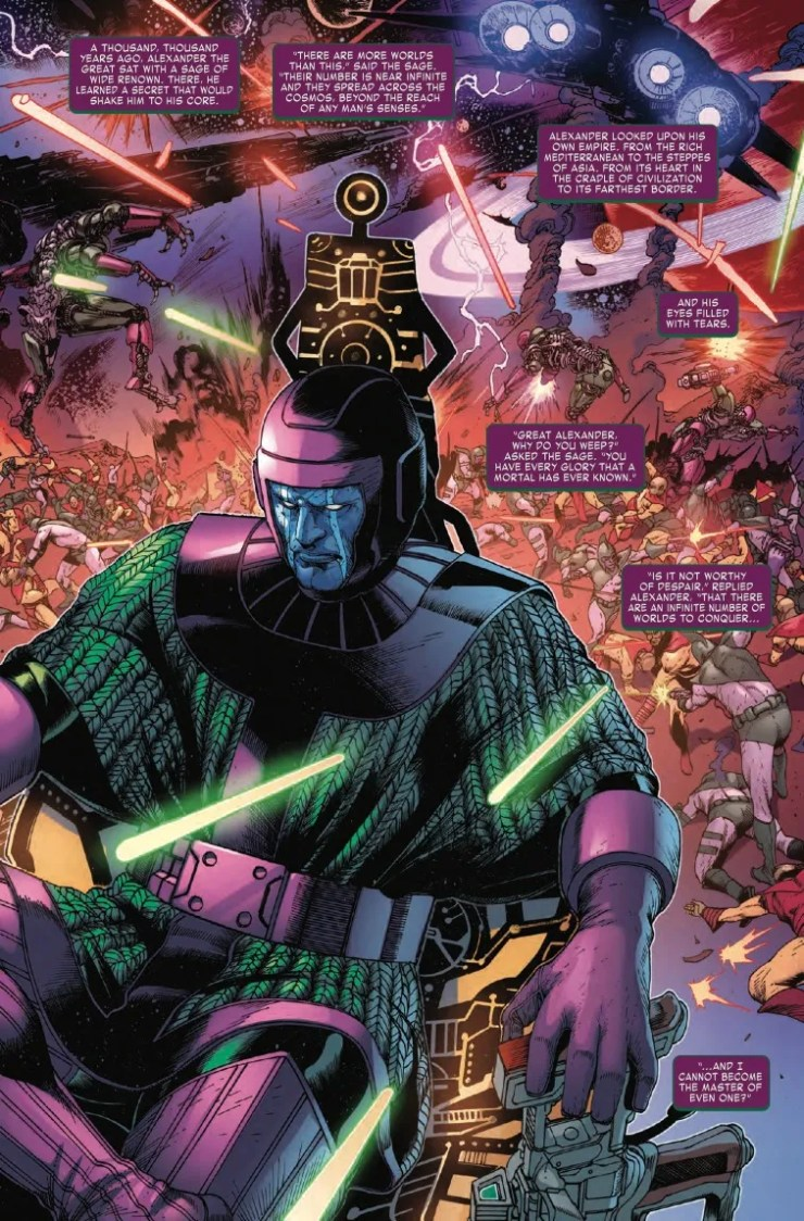 Marvel First Look: Kang The Conqueror #1