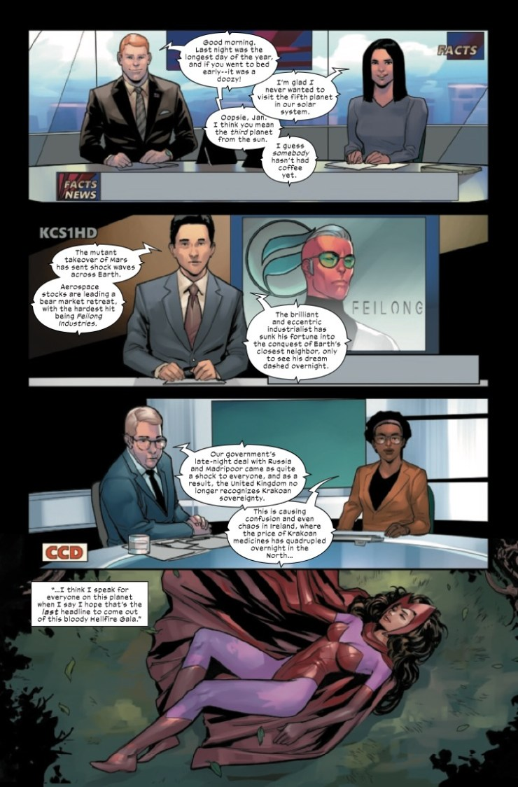 Marvel Preview: Marauders #22