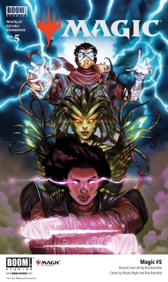 EXCLUSIVE BOOM! Preview: Magic #5