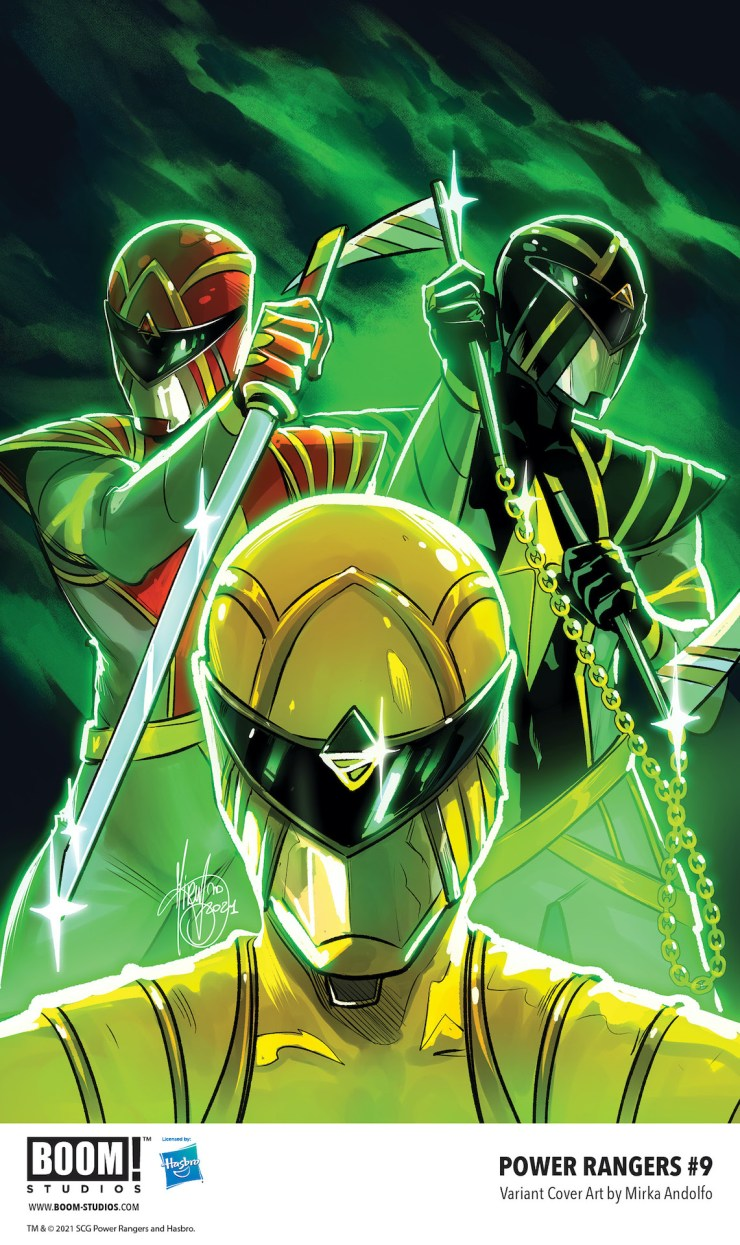 BOOM! Preview: Power Rangers #9