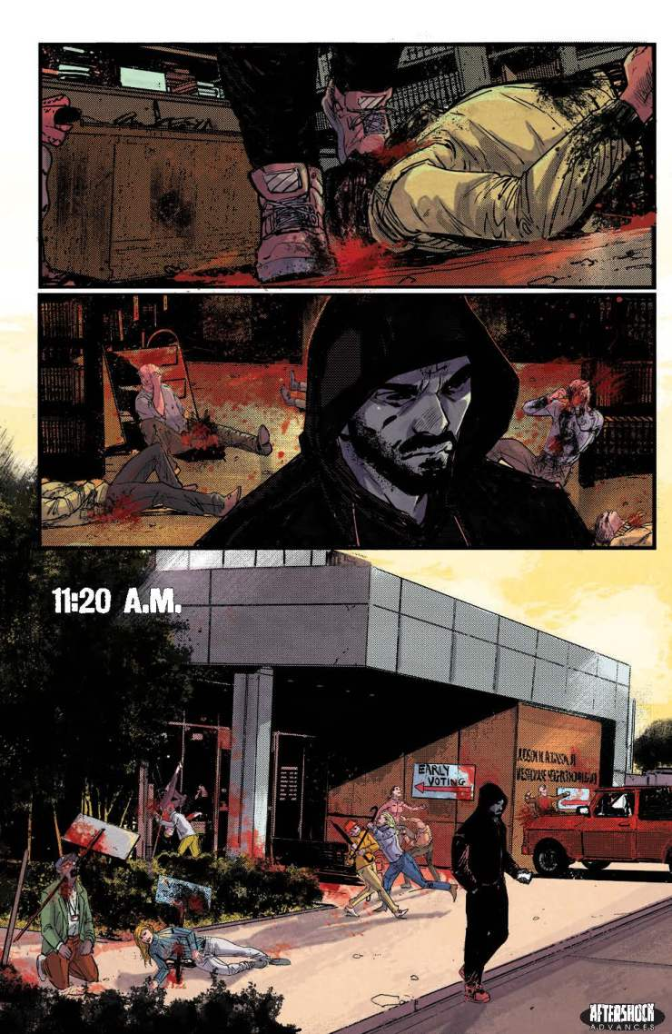 AfterShock Preview: Red Atlantis TPB