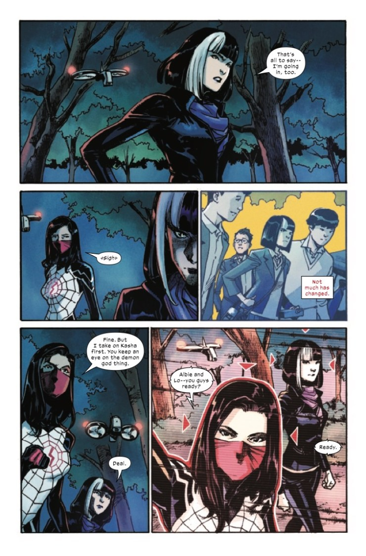 Marvel Preview: Silk #5