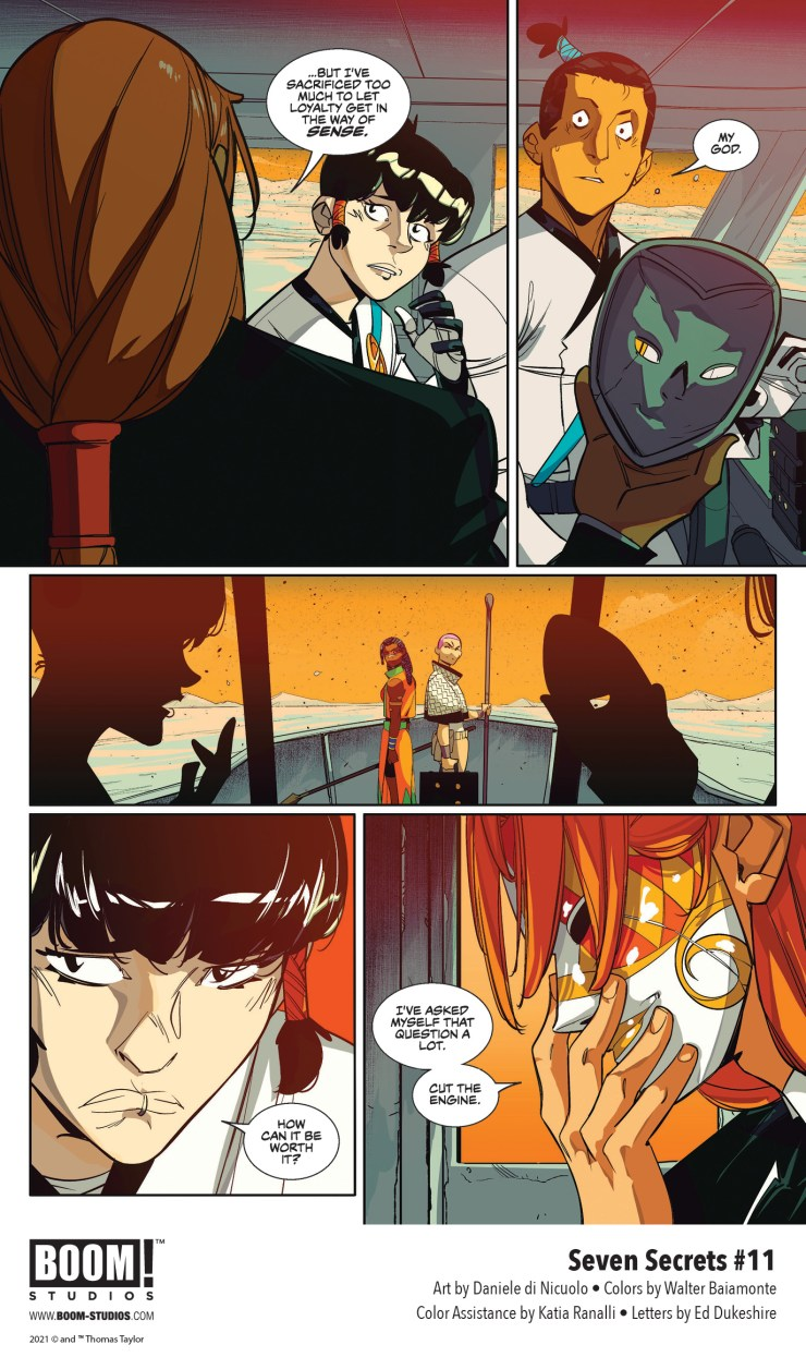 EXCLUSIVE BOOM! Preview: Seven Secrets #11