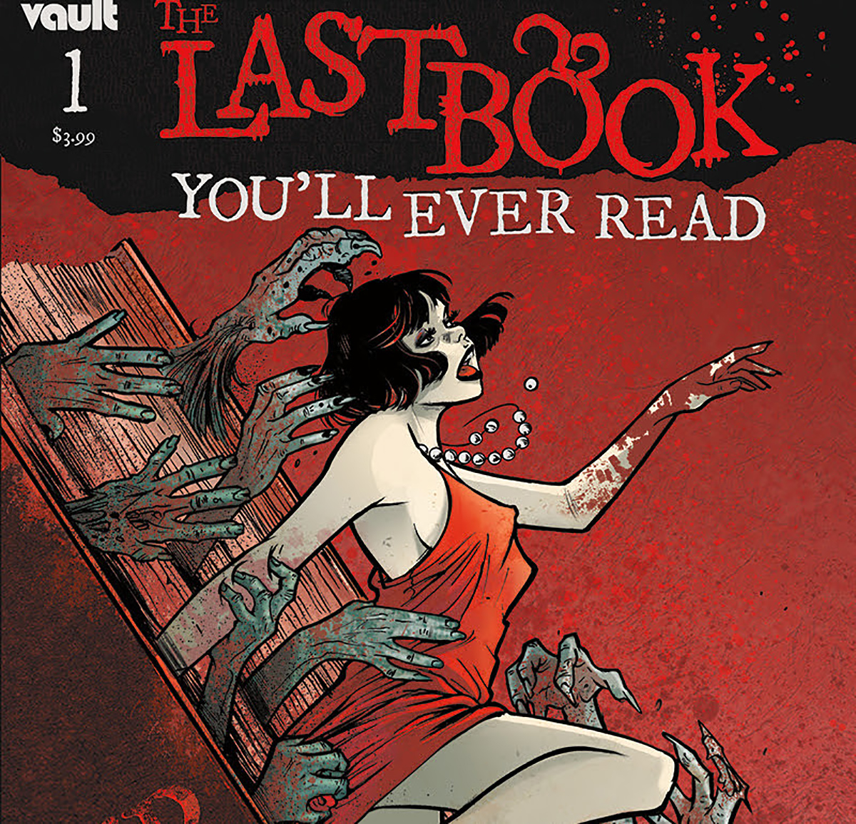 'The Last Book You'll Ever Read' #1 draws you into its horror world