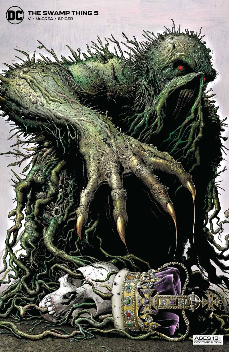 DC Preview: The Swamp Thing #5