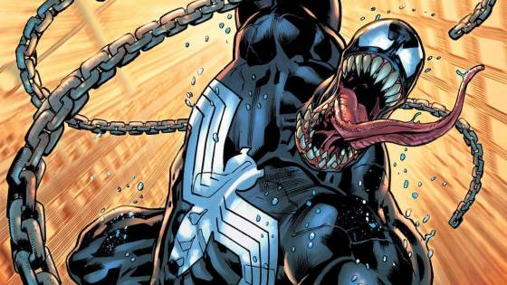 Marvel releases 'Venom' #1 cover for new series launch October 13