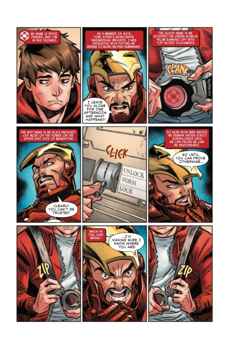 Marvel Preview: W.E.B. of Spider-Man #3