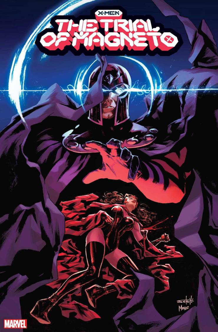 Marvel reveals even more 'The Trial of Magneto' covers