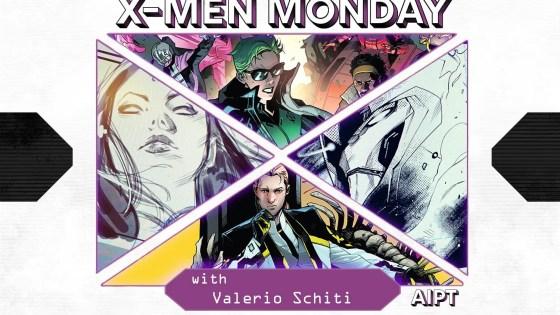 X-Men Monday #115 - Valerio Schiti Talks Art, Inspirations, Inferno and More