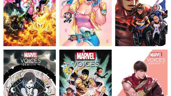 Marvel reveals all six 'Marvel's Voices: Identity' #1 covers