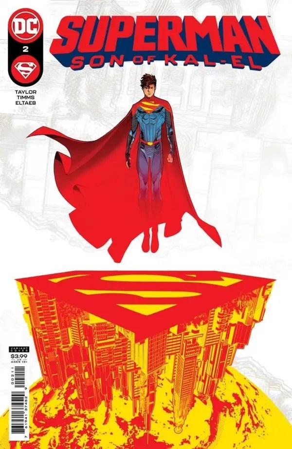 EXCLUSIVE DC First Look: Superman: Son of Kal-El #2