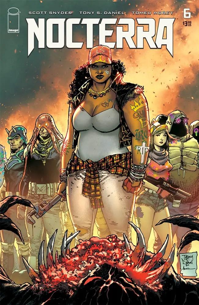 Image Comics reveals 'Nocterra' #6 variant covers