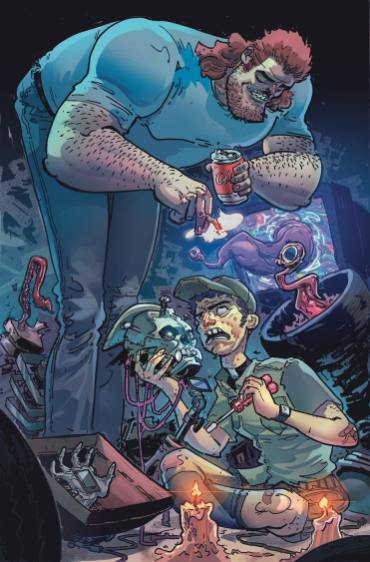 DC Horror expands with 'Soul Plumber' October 5th