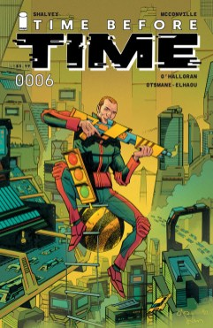 Images Comics series 'Time Before Time' #6 to feature Mike Del Mundo cover