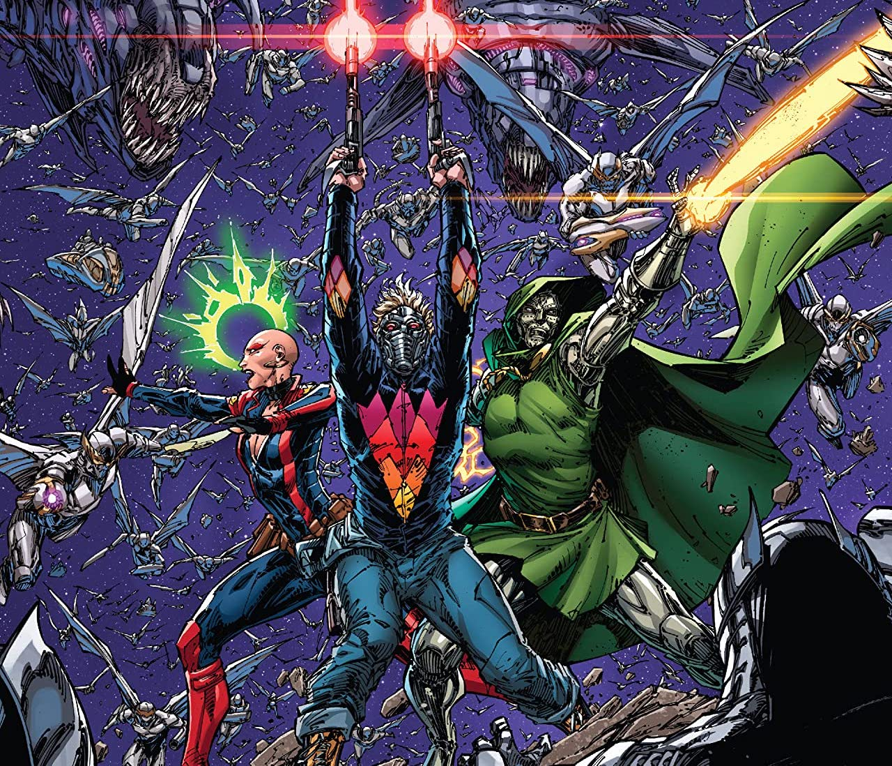 'Guardians of the Galaxy' #17 reveals Doctor Doom's plan