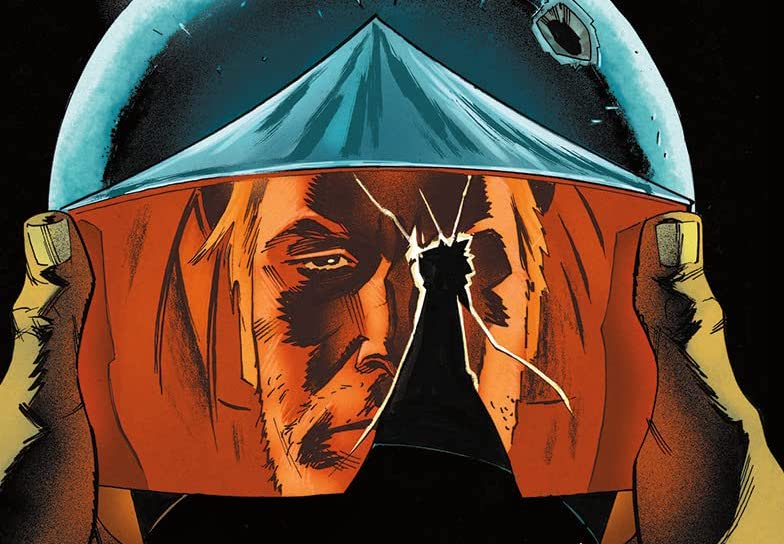 'The Blue Flame' #4 brings its storylines on Earth and in faraway space closer together