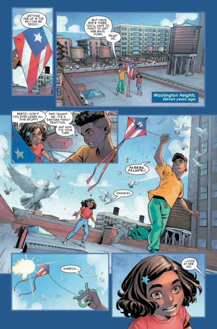 Marvel Preview: America Chavez: Made in the USA #5