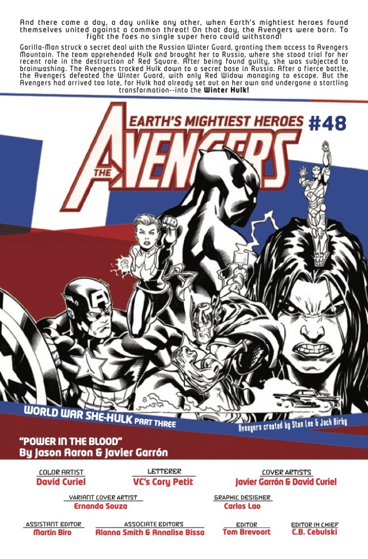 Marvel Preview: Avengers #48