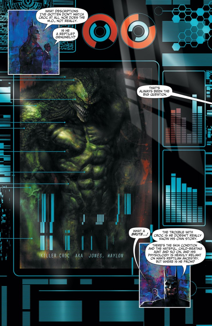 DC Preview: Batman: Reptilian #3