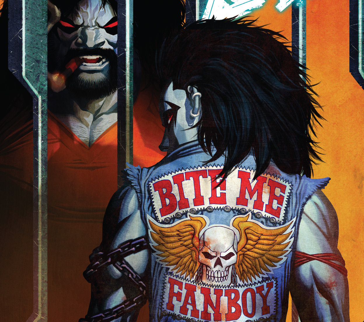 'Crush and Lobo' #3 takes its style and attitude to prison