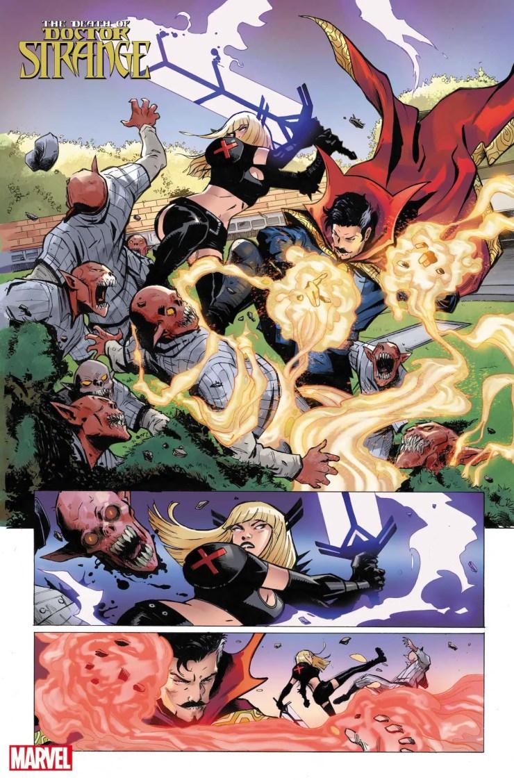 Marvel First Look: Death of Doctor Strange #1