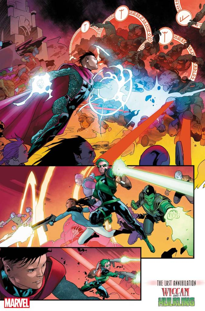 Marvel First Look: Last Annihilation: Wiccan & Hulkling