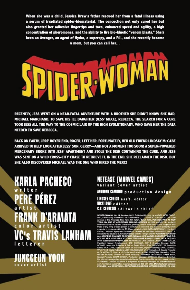 Marvel Preview: Spider-Woman #14