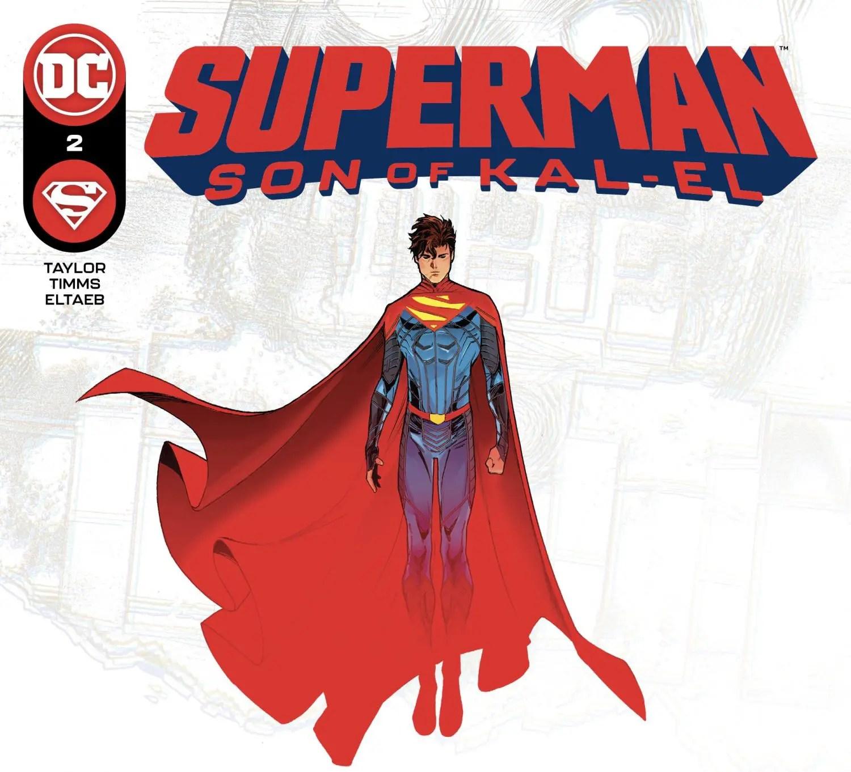 Superman: Son of Kal-El #2 Cover
