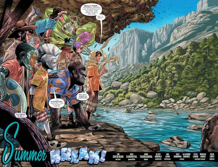DC Preview: Teen Titans Academy #6