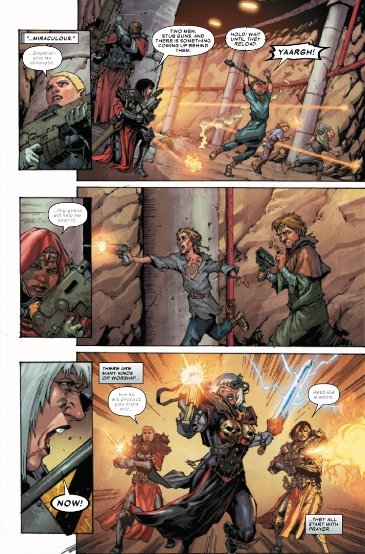 Marvel Preview: Warhammer 40,000: Sisters of Battle #1