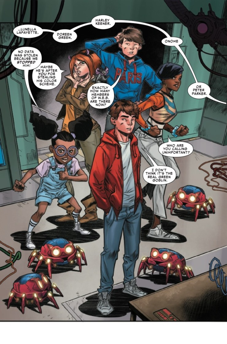 Marvel Preview: W.E.B. of Spider-Man #4