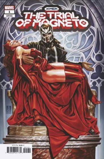 AIPT Comics podcast episode 135: Ryan Parrott Trial of Magneto