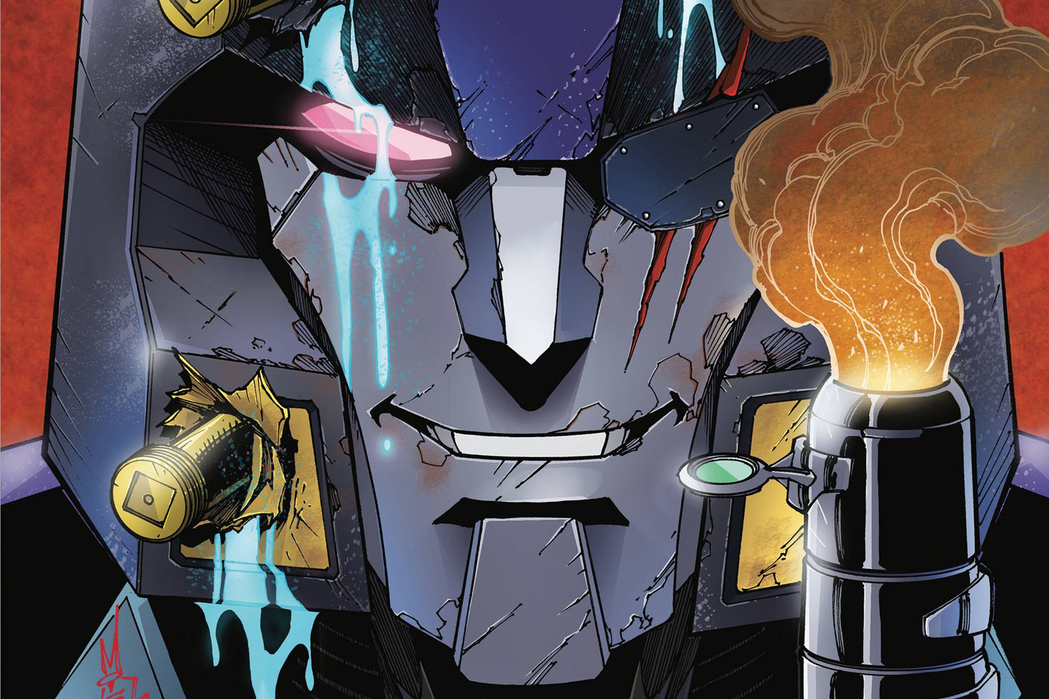 'Transformers: Shattered Glass' #1 kicks off the mirror universe in a big way