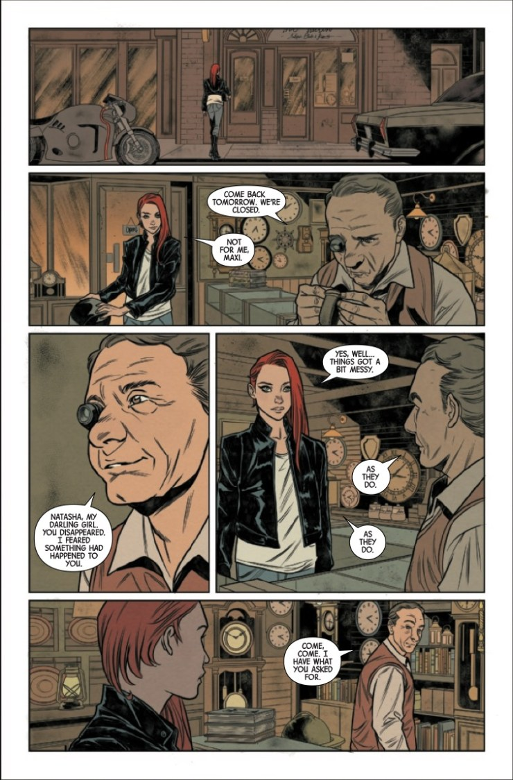 Marvel Preview: Black Widow #11