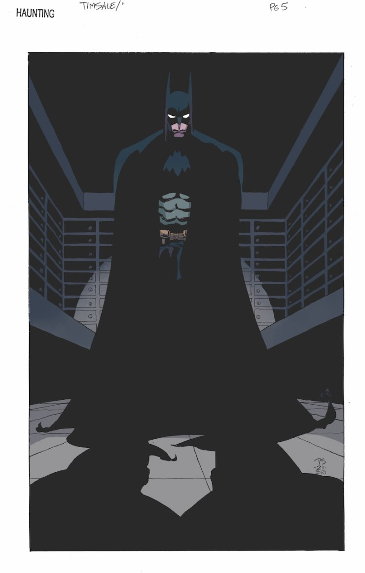 Building the mystery: Tim Sale and Jeph Loeb discuss 'Batman: The Long Halloween Special'