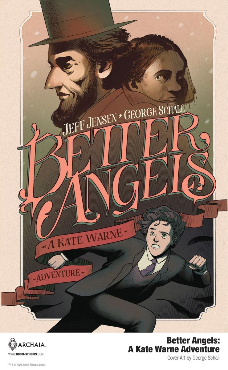 EXCLUSIVE Preview: Better Angels: A Kate Warne Adventure