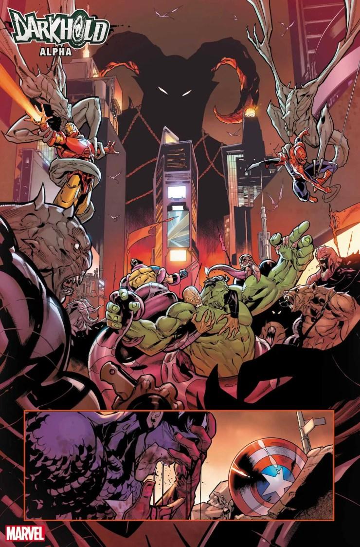 Marvel First Look: Darkhold Alpha #1