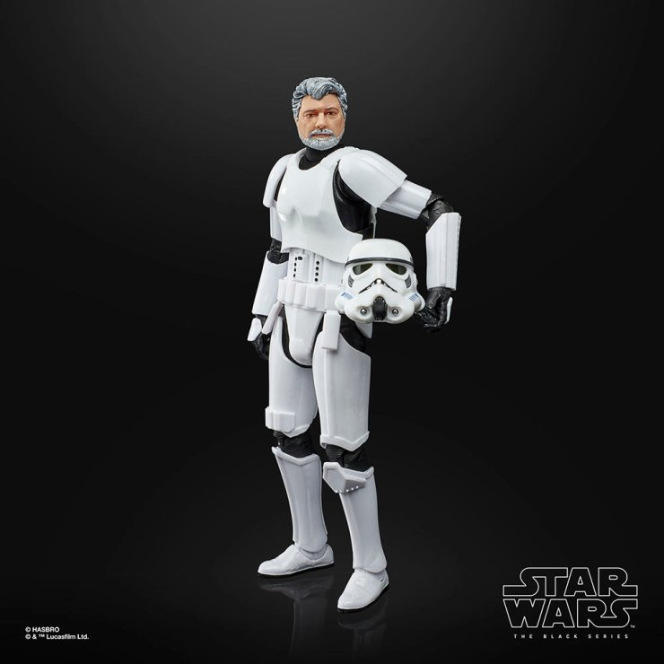 George Lucas gets his own Star Wars Black Series figure