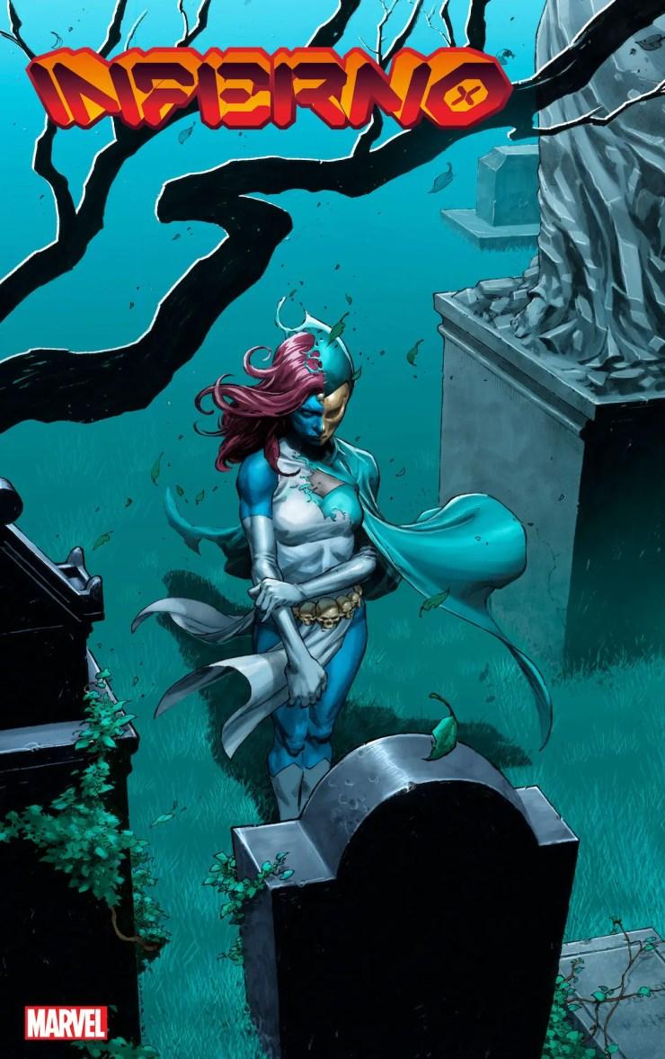 Marvel teases new info around Jonathan Hickman's final X-Men comic 'Inferno' #4