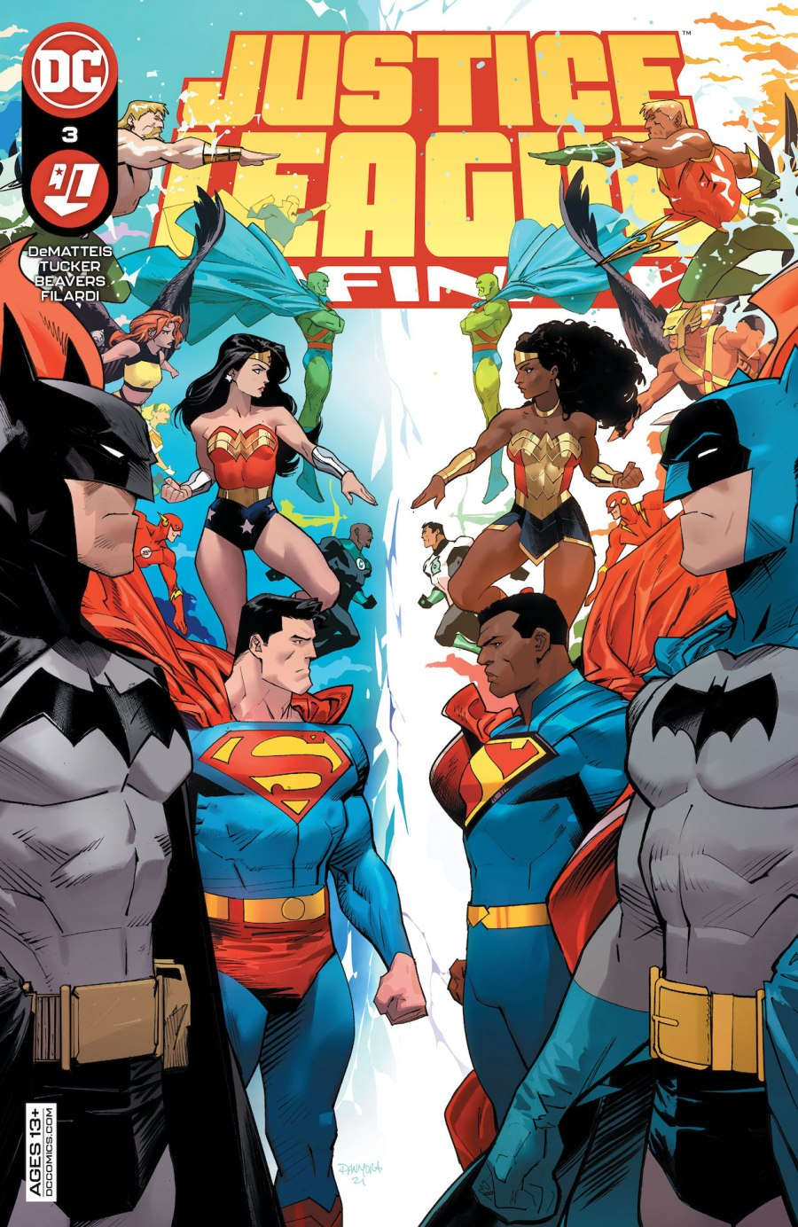 Justice League Infinity #3 Review | The Aspiring Kryptonian