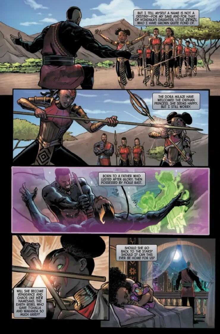 Marvel Preview: Last Annihilation: Wakanda #1