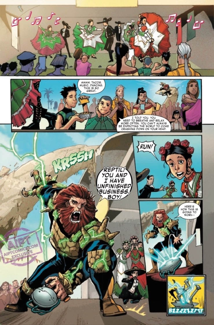 EXCLUSIVE Marvel Preview: Reptil #4