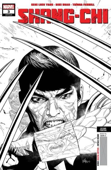 Shang-ChI #3 second printing