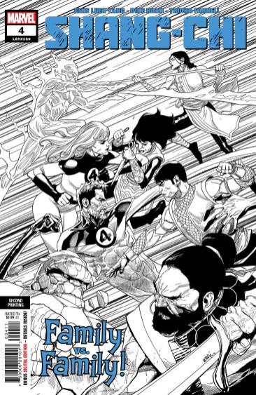 Shang-ChI #4 second printing