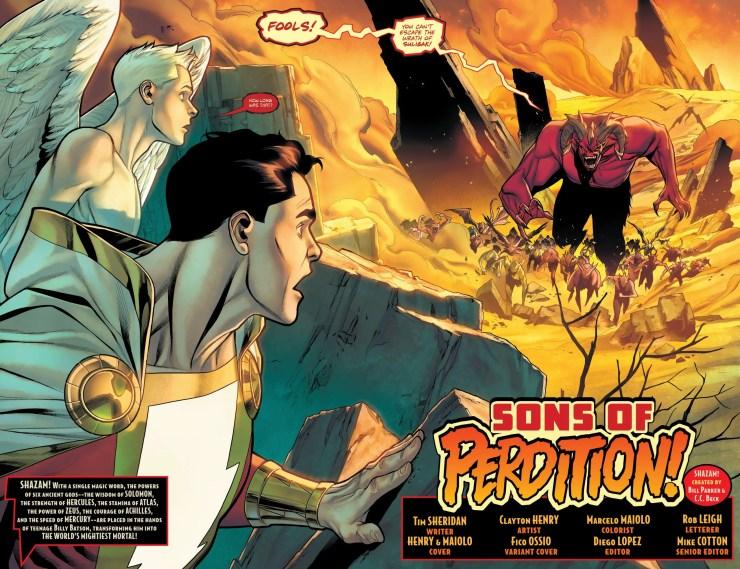 DC Preview: Shazam! #3