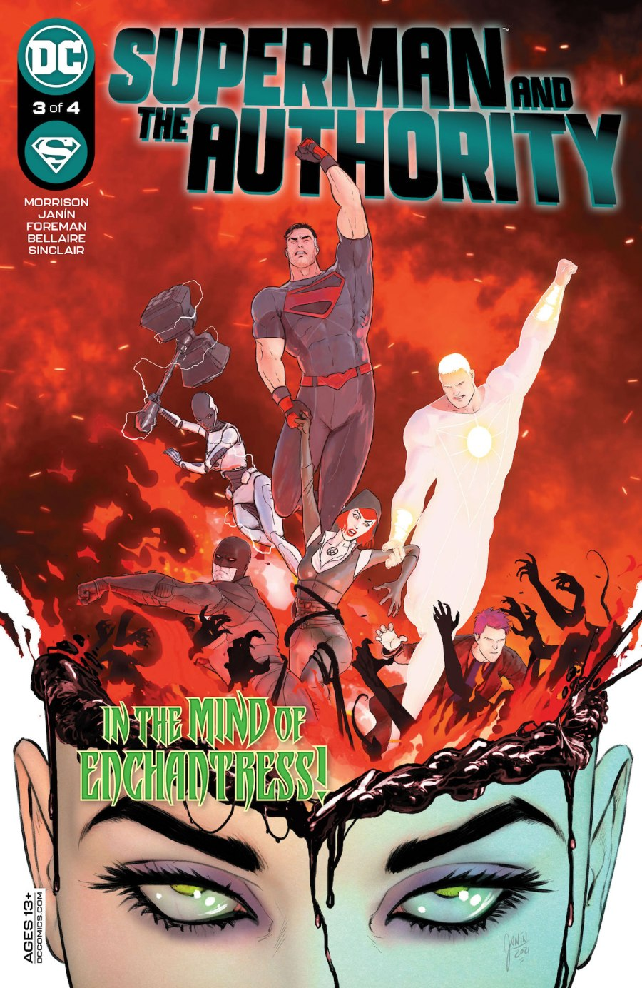 Superman and the Authority #3 Review | The Aspiring Kryptonian