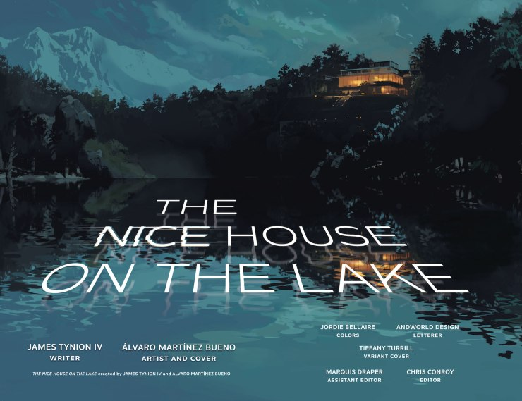 DC Preview: The Nice House on the Lake #4