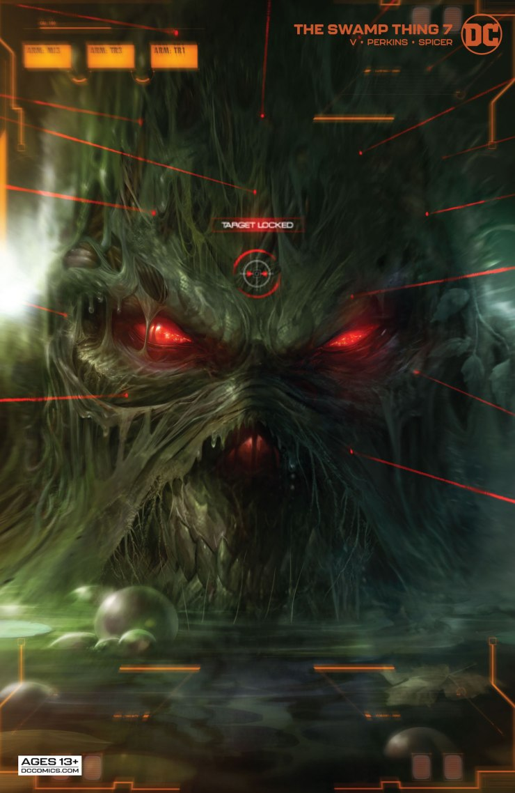 DC Preview: The Swamp Thing #7