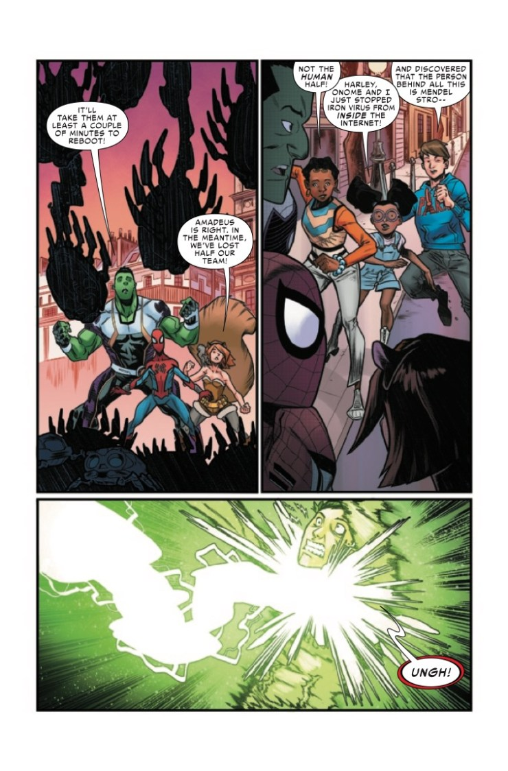 Marvel Preview: W.E.B. Of Spider-Man #5